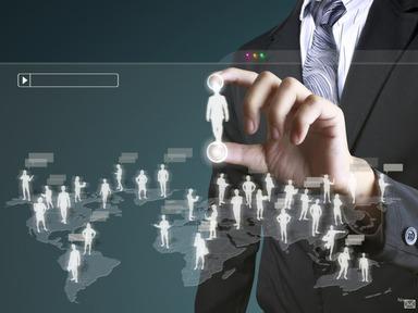 social network structure 800 shutterstock 85597867 شبکه های اجتماعی سازمانی؛ همکاری و  مشارکت در سازمان
