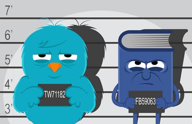 امنیت در شبکه های اجتماعی توییتر و فیس بوک
