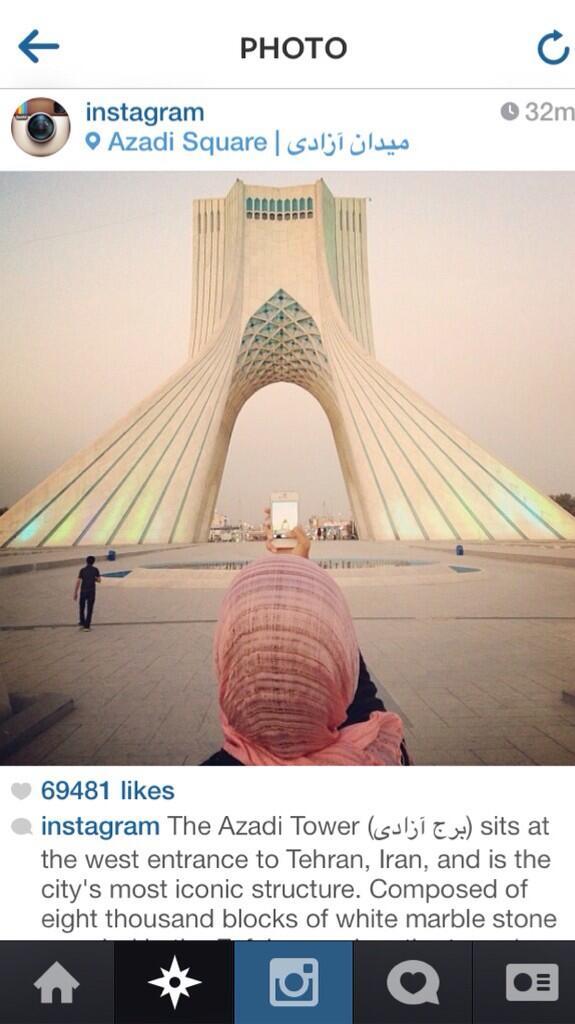 اینستاگرام ایران