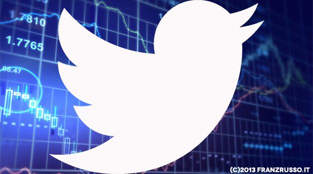 توییتر بورس سهام