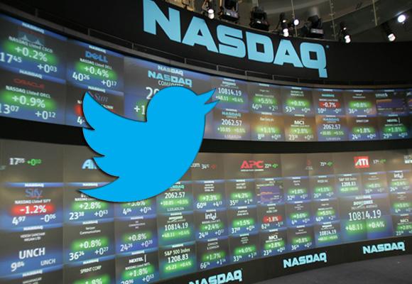 توییتر سهام