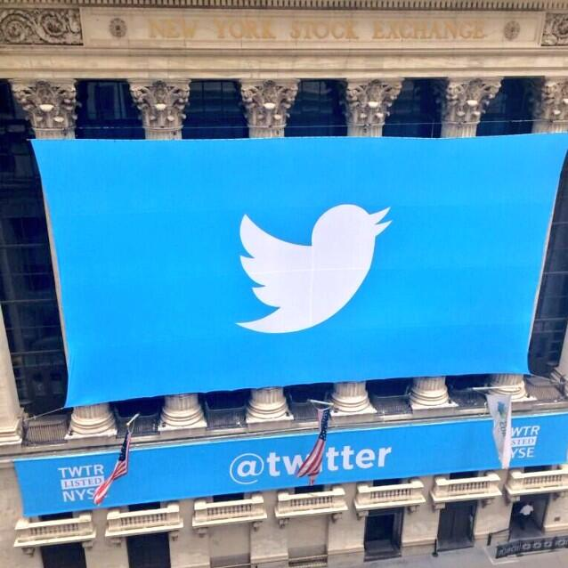 توییتر به صورت رسمی وارد بازار سهام شد