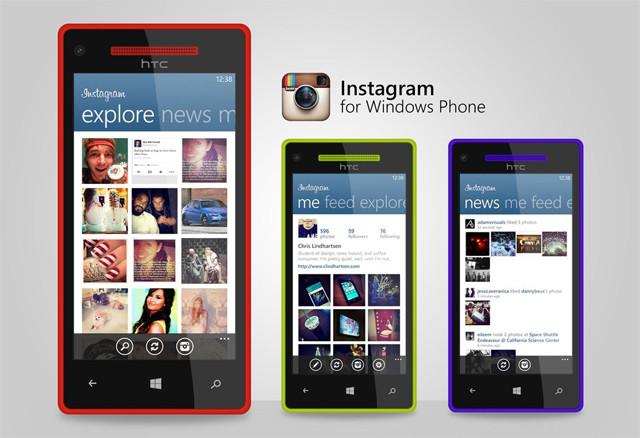 اینستاگرام برای ویندوز فون