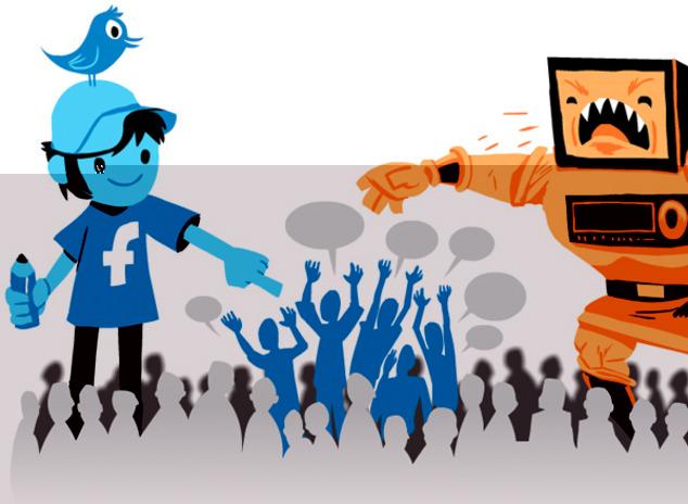 گذر از رسانه سنتی به اجتماعی