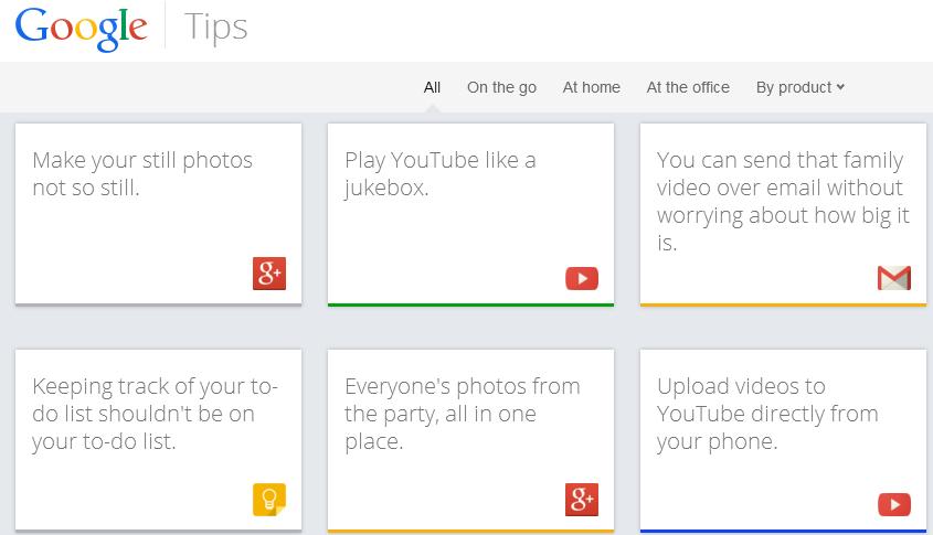 «گوگل تیپس» برای آموزش به کاربران گوگل راهاندازی شد