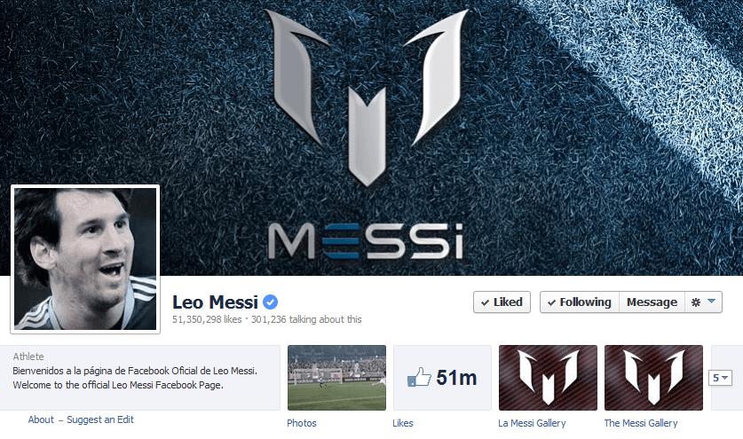 فیس بوک مسی