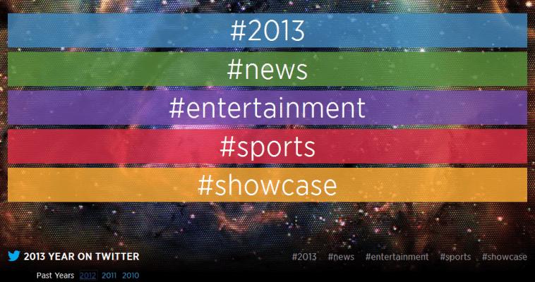 بهترینهای امسال را در «توییتر ۲۰۱۳» مرور کنید