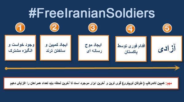 امروز دومین کمپین «آزادی سربازان ایرانی»