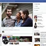 طراحی فیس بوک