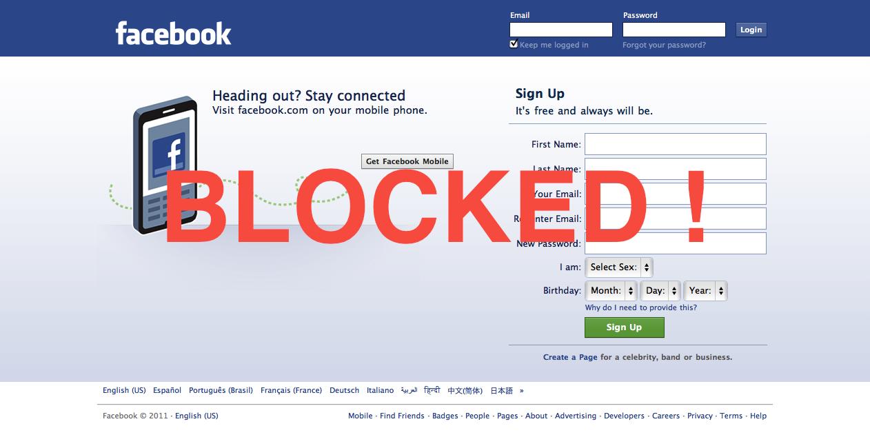 تایلند هم فیسبوک را فیلتر کرد