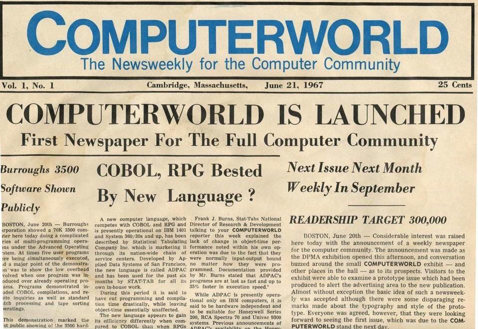 «کامپیوترورد» بعد از ۴۷ سال منتشر نمیشود! تنها آنلاین میشود