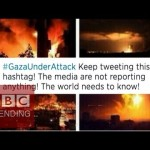 غزه شبکه های اجتماعی