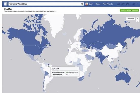 فیسبوکیهای ایرانی طرفدار کدام تیم جامجهانی بودند؟